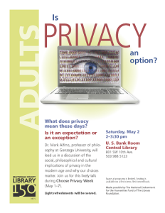 Multnomah County Library Privacy Option flyersm