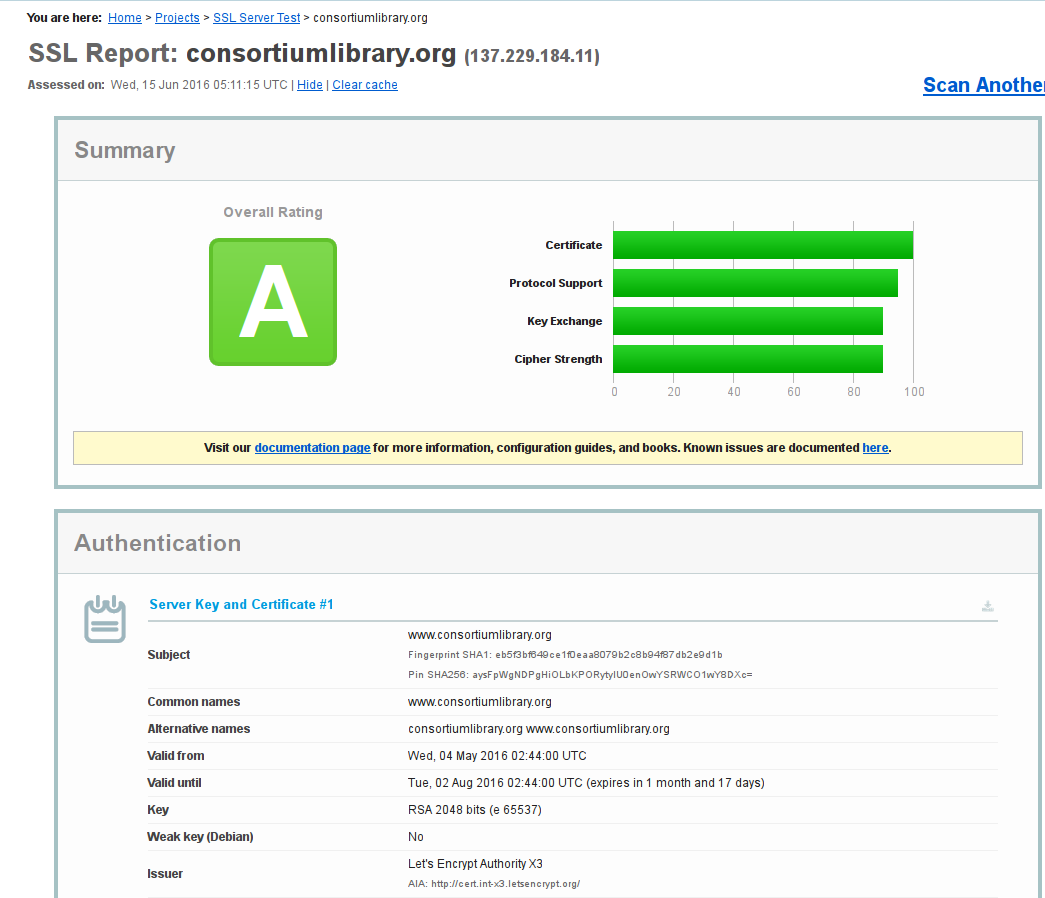 Let's Encrypt on Apache Web Server - Choose Privacy Every Day