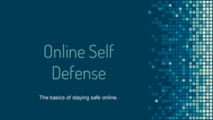 Online Self-Defense (English): Thumbnail of Slide