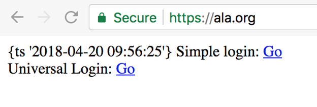 SSL Labs report on ala.org