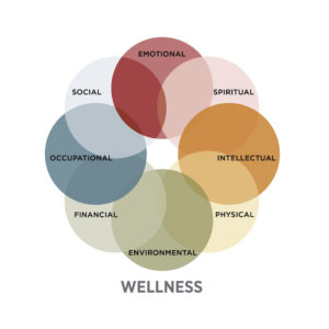 Example of a wellness wheel.