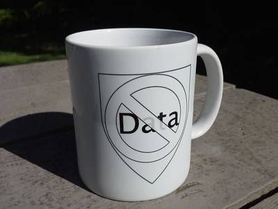 No data coffee mug