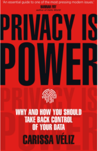 Book cover for Privacy is Power